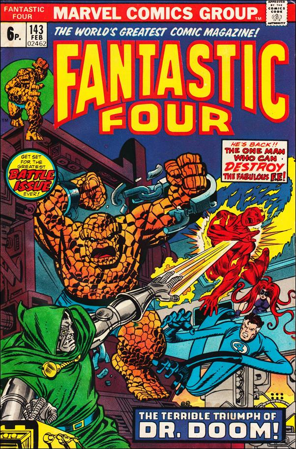 Fantastic Four (1961) 143-B by Marvel