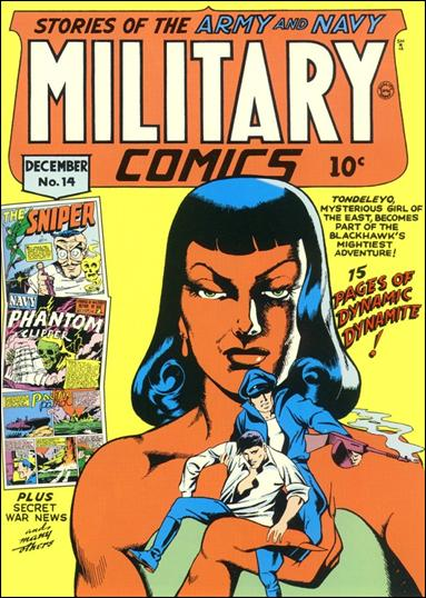 Military Comics 14-A by Comic Magazines