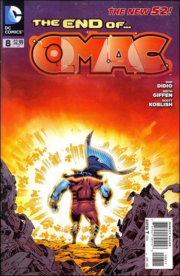 OMAC (2011) 8-A by DC
