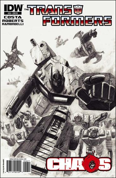 Transformers (2009) 26-C by IDW