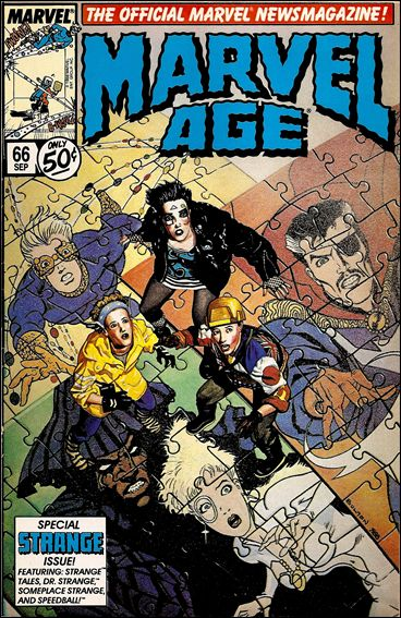 Marvel Age 66-A by Marvel
