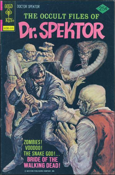 Occult Files of Dr. Spektor 17-A by Gold Key