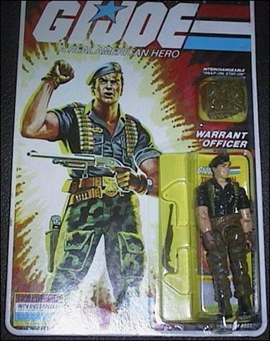 "G.I. Joe: A Real American Hero 3 3/4"" Basic Action Figures Flint (Warrant Officer) by Hasbro"