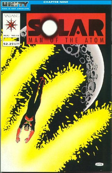 Solar, Man of the Atom (1991) 12-A by Valiant