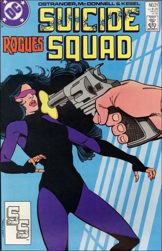 Suicide Squad (1987) 21-A by DC