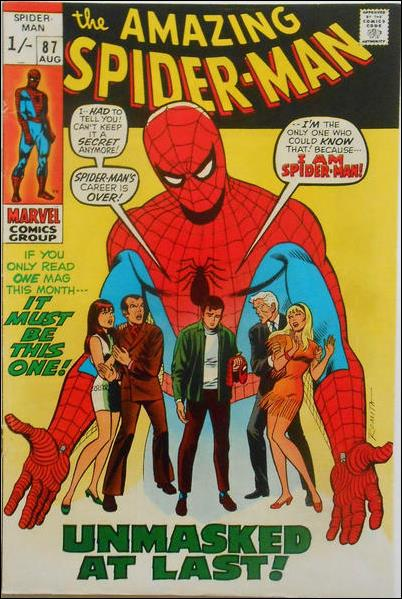 Amazing Spider-Man (1963) 87-B by Marvel