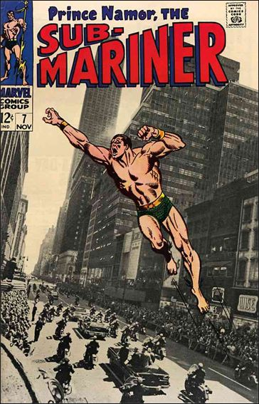 Sub-Mariner (1968) 7-A by Marvel