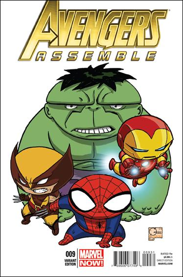 Avengers Assemble (2012) 9-D by Marvel