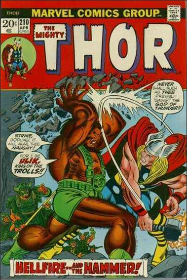 Thor (1966) 210-A by Marvel