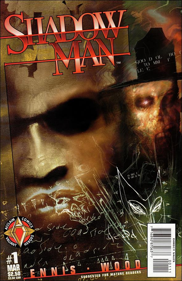 Shadowman (1997) 1-A by Acclaim