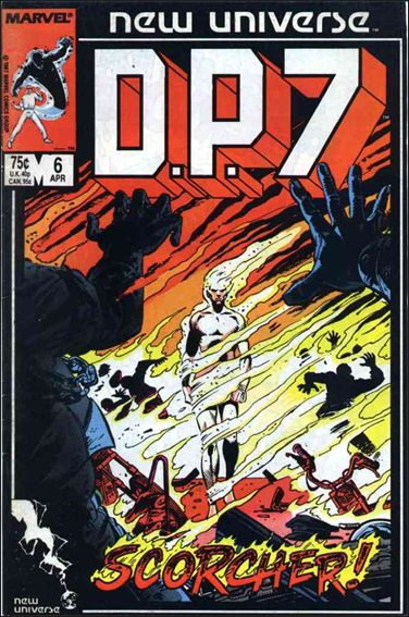 D.P.7 6-A by Marvel