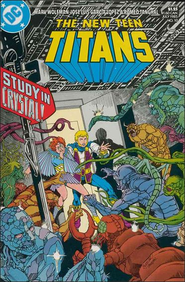 New Teen Titans (1984) 10-A by DC