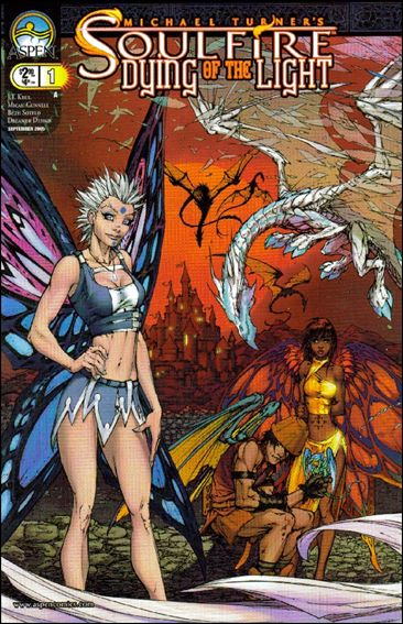 Michael Turner's Soulfire: Dying of the Light 1-A by Aspen