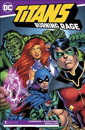 Titans: Burning Rage 1-A