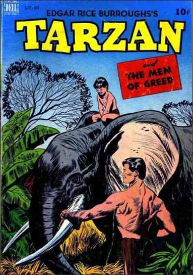 Tarzan (1948) 5-A by Dell