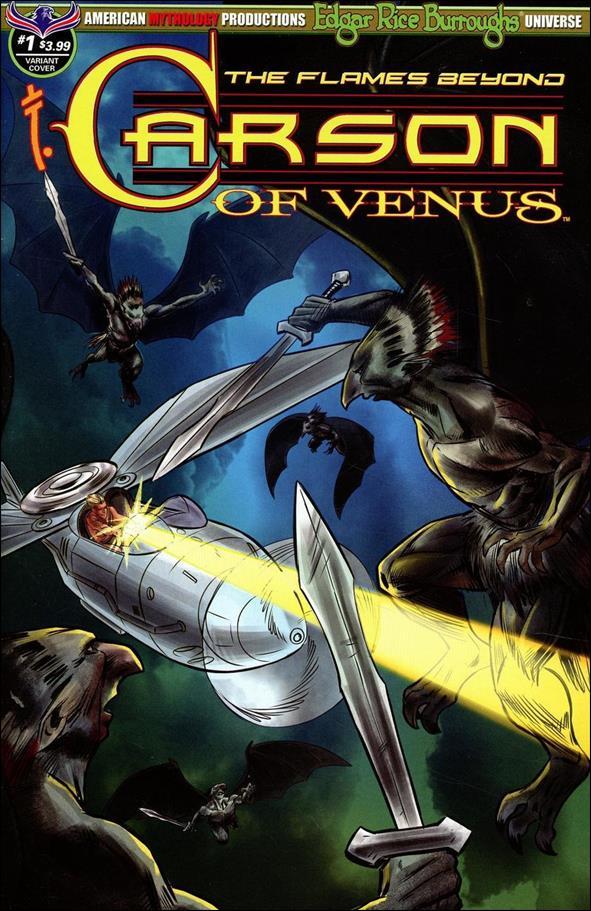 Edgar Rice Burroughs' Carson of Venus: The Flames Beyond 1-B by American Mythology