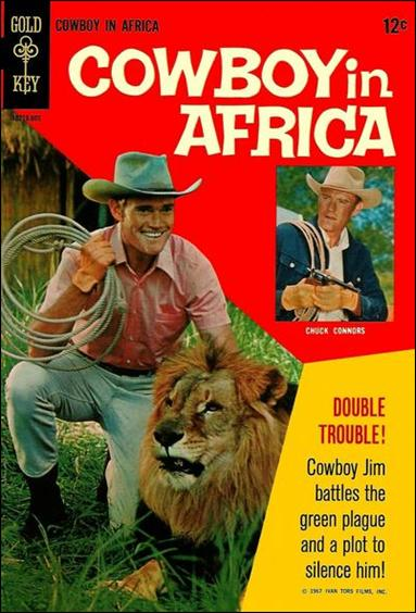 Cowboy in Africa 1-A by Gold Key