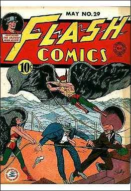 Flash Comics (1939) 29-A by DC