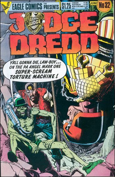 Judge Dredd (1983) 32-A by Eagle
