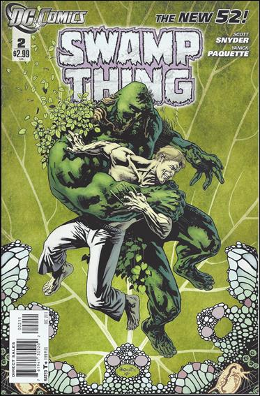 Swamp Thing (2011) 2-A by DC