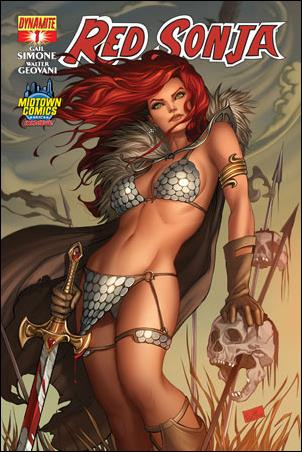 Red Sonja (2013) 1-K by Dynamite Entertainment