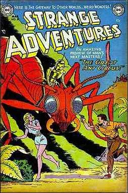 Strange Adventures (1950) 30-A by DC