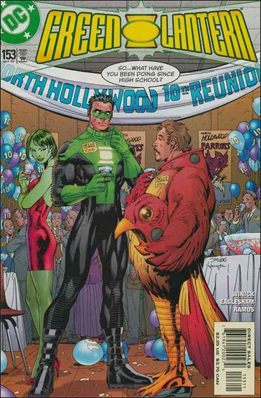 Green Lantern (1990) 153-A by DC