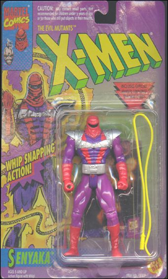 "X-Men 5"" Action Figures Senyaka (Toys 'R' Us Exclusive) by Toy Biz"