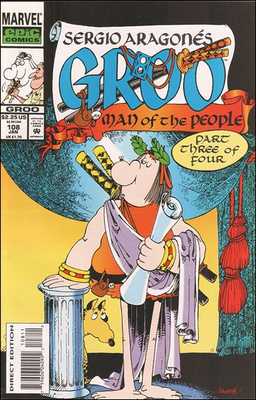 Sergio Aragones Groo the Wanderer 108-A by Epic