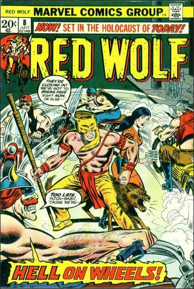 Red Wolf (1972) 8-A by Marvel