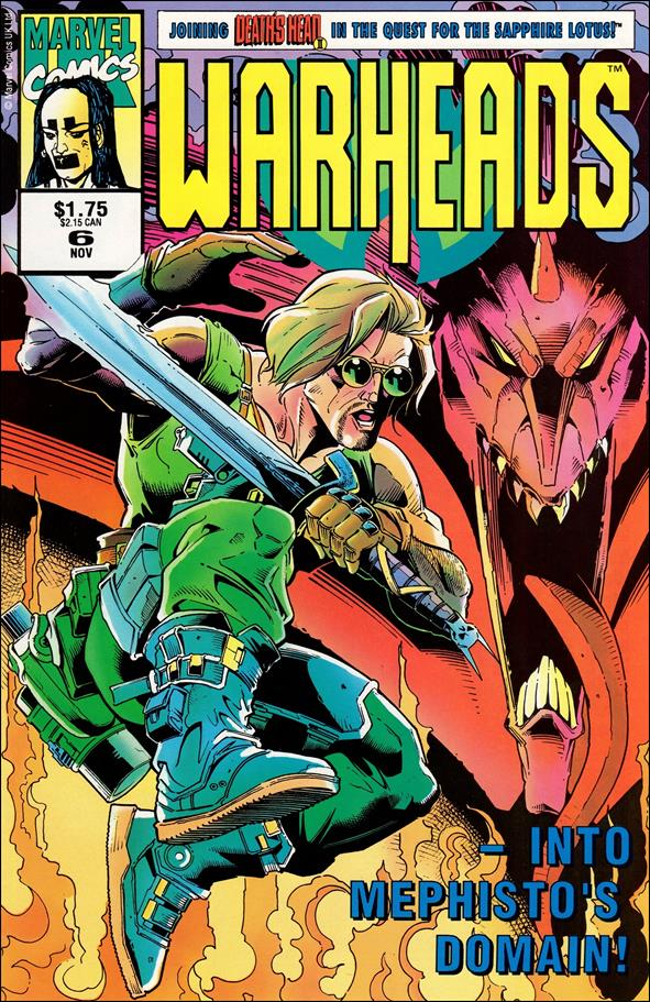 Warheads (UK) 6-A by Marvel UK