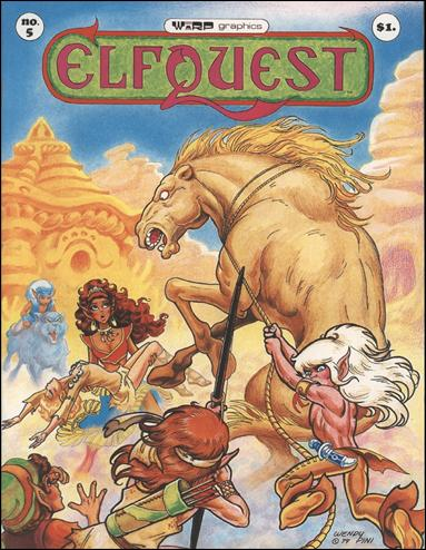 Elfquest (1978) 5-A by Warp Graphics