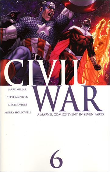 Civil War (2006) 6-A by Marvel