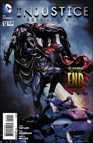 Injustice: Gods Among Us 12-A by DC