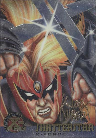 1995 Fleer Ultra X-Men All Chromium (Gold Signature Parallel Base Set) 23-A by Fleer
