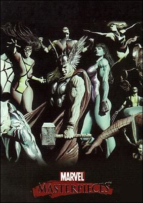 2007 Marvel Masterpieces (Ross Splash Subset) ROSS 1-A by SkyBox