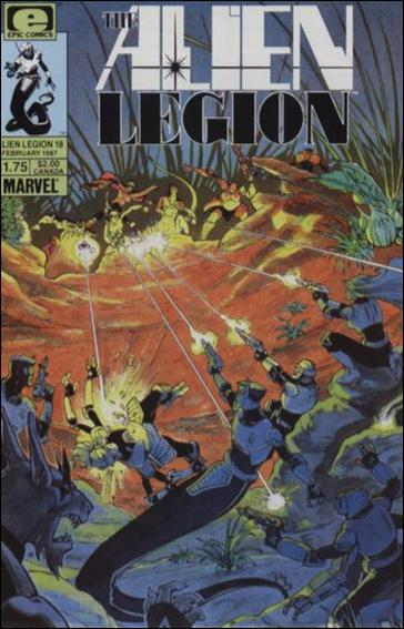 Alien Legion (1984) 18-A by Epic