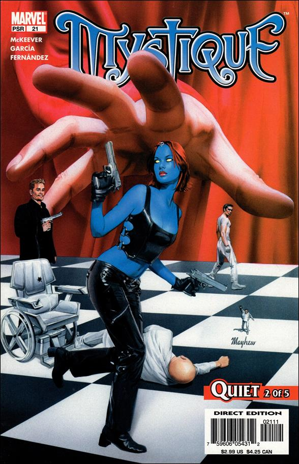 Mystique 21-A by Marvel