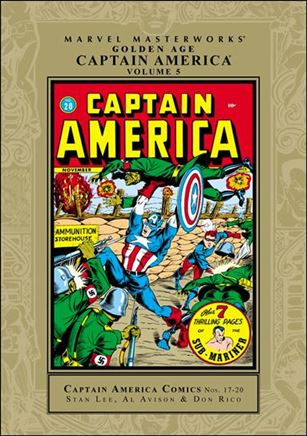 Marvel Masterworks: Golden Age Captain America 5-A