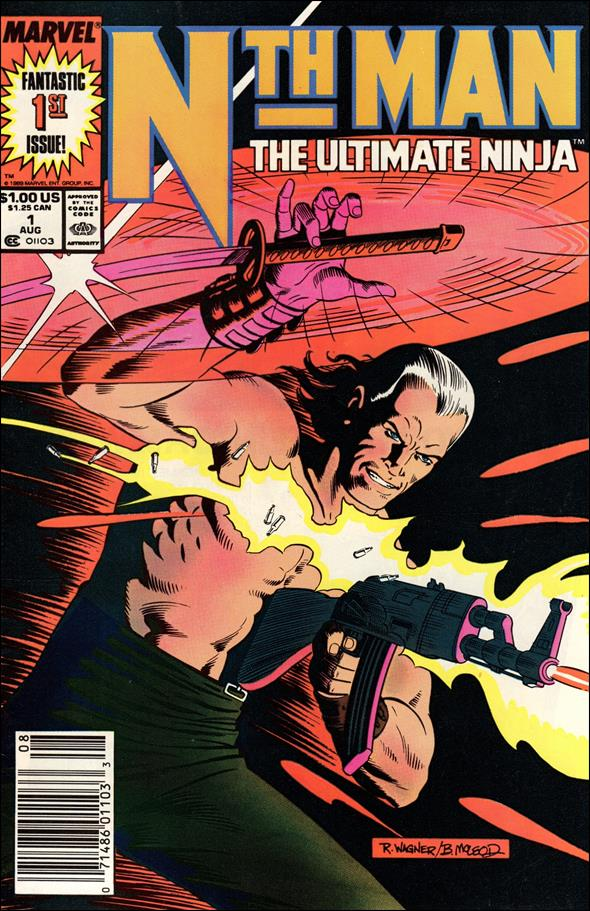Nth Man Ultimate Ninja 1-A by Marvel