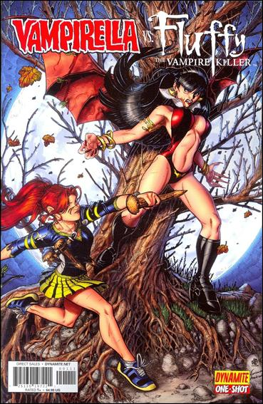 Vampirella vs Fluffy 1-A by Dynamite Entertainment