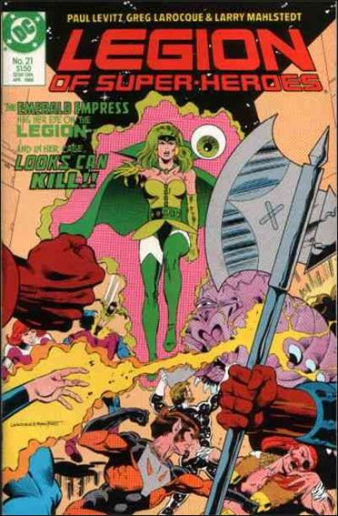 Legion of Super-Heroes (1984) 21-A by DC