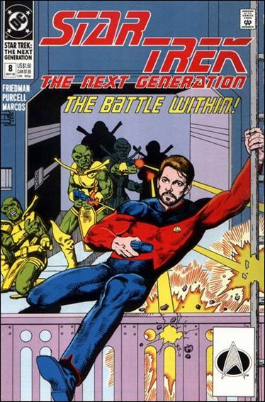 Star Trek: The Next Generation (1989) 8-A by DC