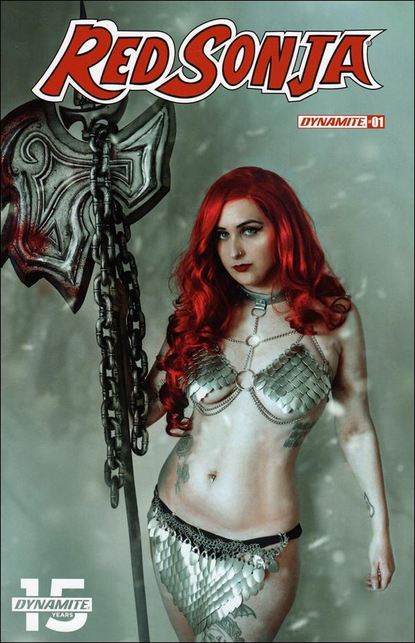 Red Sonja (2019) 1-E by Dynamite Entertainment