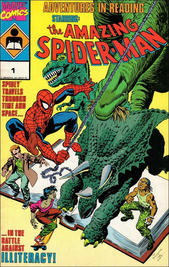 Adventures in Reading Starring: The Amazing Spider-Man (1990) 1-A by Marvel