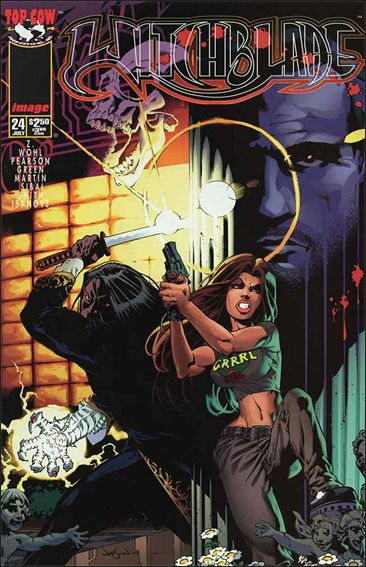 Witchblade 24-A by Top Cow