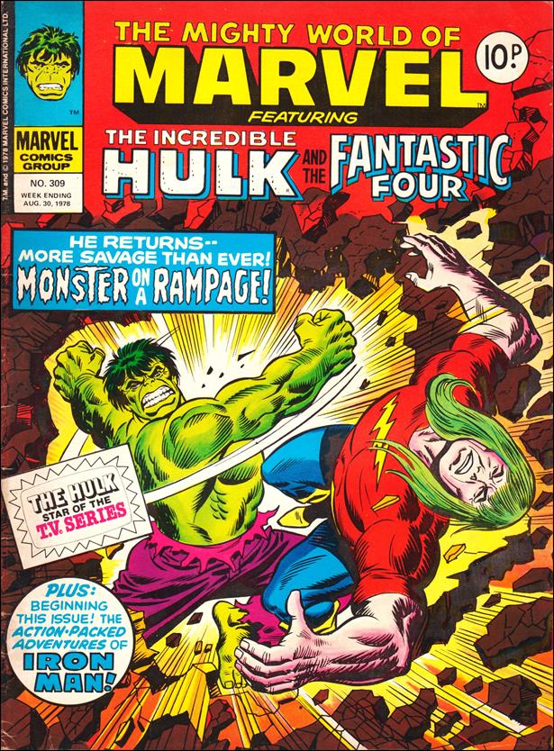 Mighty World of Marvel (UK) (1972) 309-A by Marvel UK