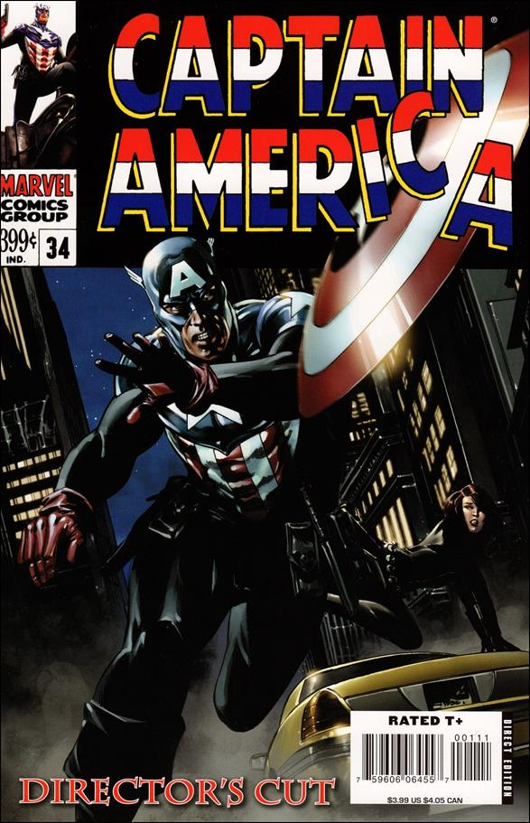 Captain America (2005) 34-E by Marvel