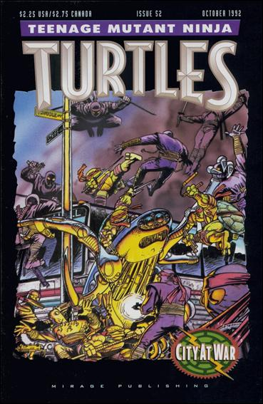 Teenage Mutant Ninja Turtles (1984) 52-A by Mirage
