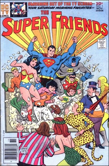 Super Friends (1976) 1-A by DC